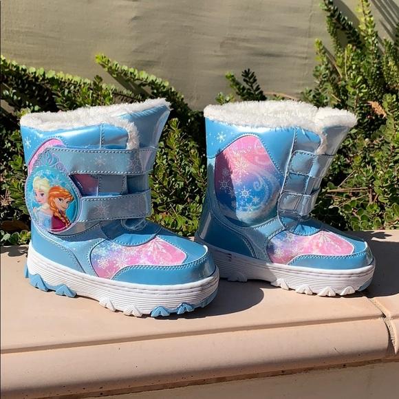 Disney Frozen toddler girls Snow Boots Elsa Anna
